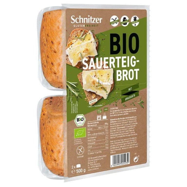 Pan de Molde Rústico con Amaranto Sin Gluten Bio 500g