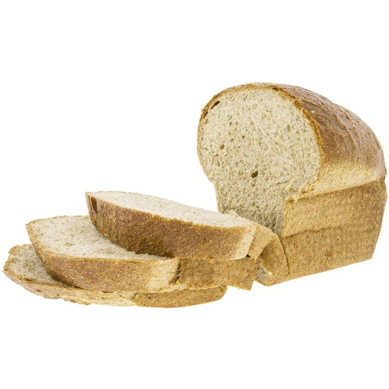 Pan de Molde XXL de Trigo Integral Especial para Tostadas 850g Ecológico de Elaboración Artesanal (sin cortar), 1 ud