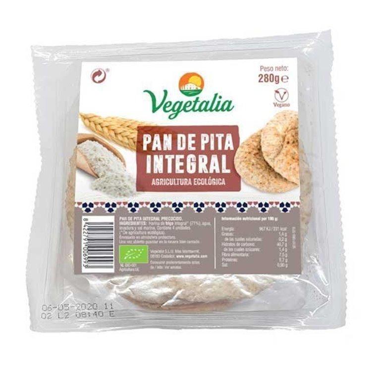 Pan de pita integral 280g