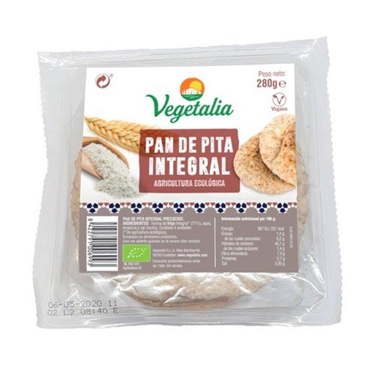 Pan de Pita Integral Bio 280g