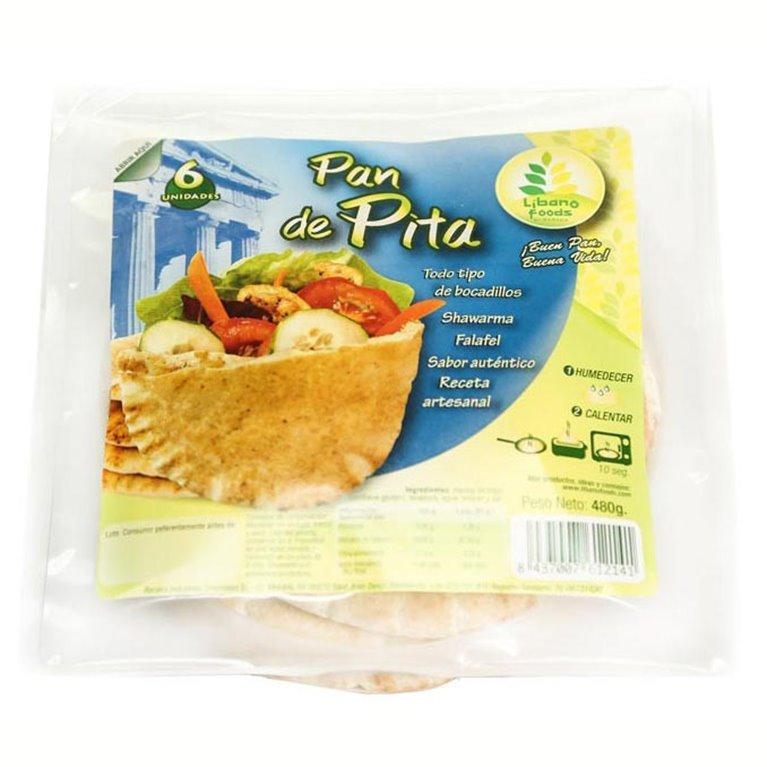 Pan de Pita XL 425g