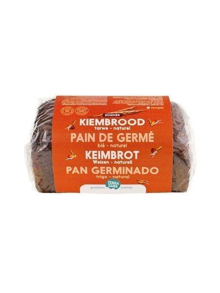Pan de trigo germinado
