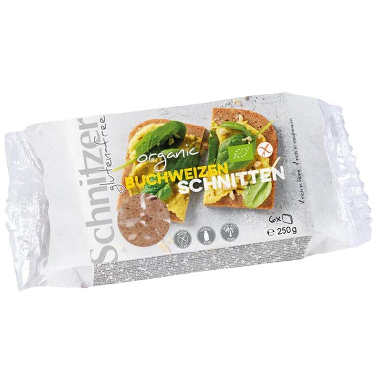Pan Fermentado de Trigo Sarraceno Sin Gluten Bio 250g