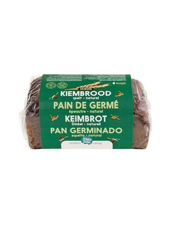 Pan germinado de espelta