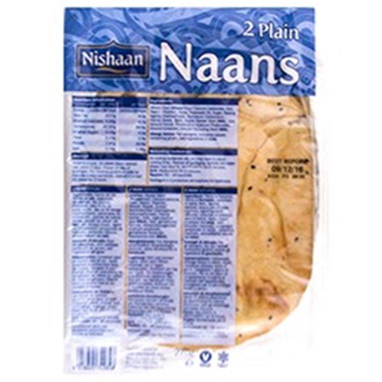 Pan Naan Plain 260g (2 uds.)