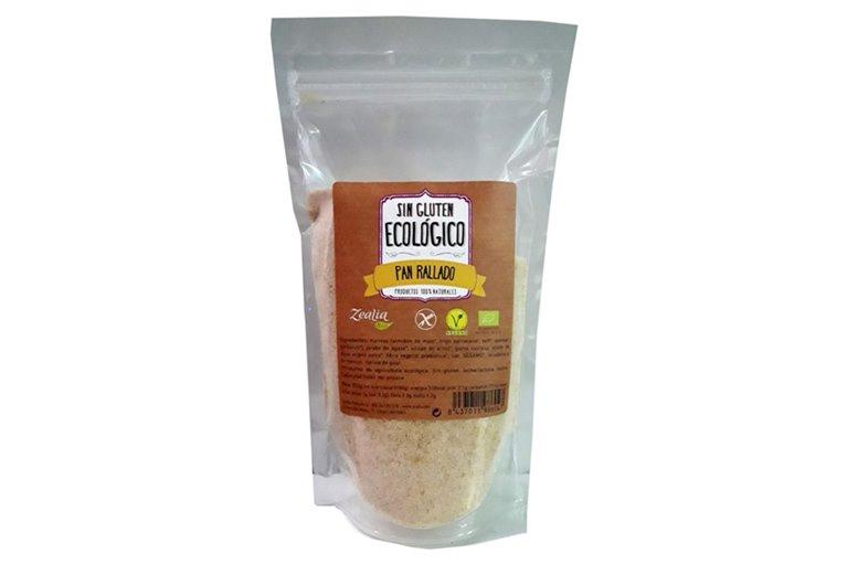 Pan rallado sin gluten, 250 gr