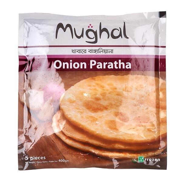 Pan relleno de Cebolla con especias | Onion Paratha Mughal 5pcs.