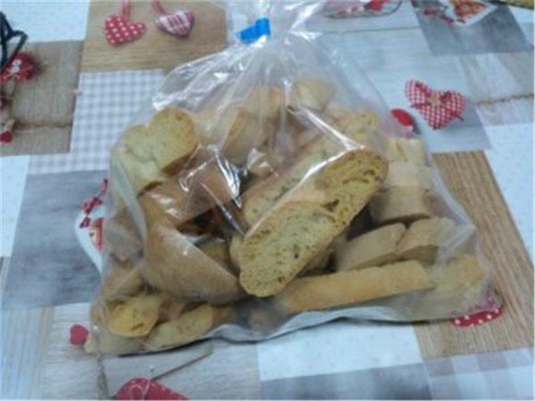 Pan tostado de leña 300g.