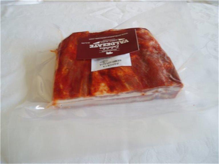 Panceta semicurada (torreznillos), 450 gr