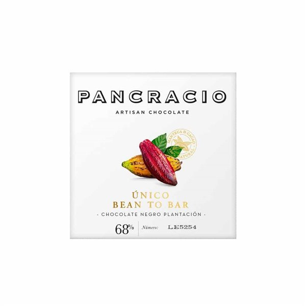 Pancracio, Tableta Chocolate Negro 'Único' Bean to Bar 45g