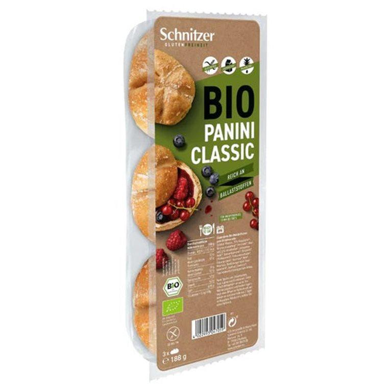 Panecillos con Semillas Panini Vital Sin Gluten Bio 250g