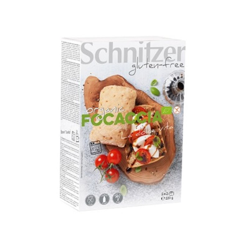 Panecillos Focaccia Sin Gluten Bio 220g