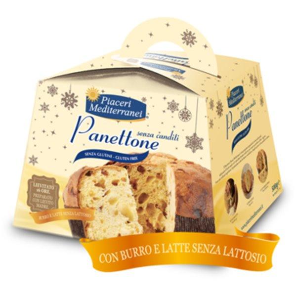 Panettone Clásico Sin Gluten y Sin Lactosa 500g