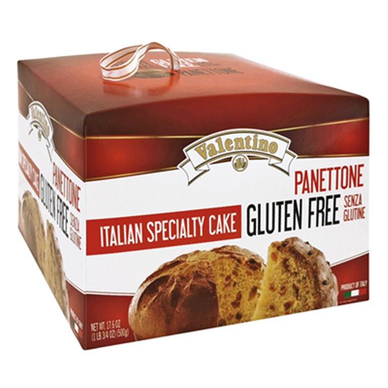 Panettone Clásico Sin Gluten y Sin Lactosa 500g, 1 ud