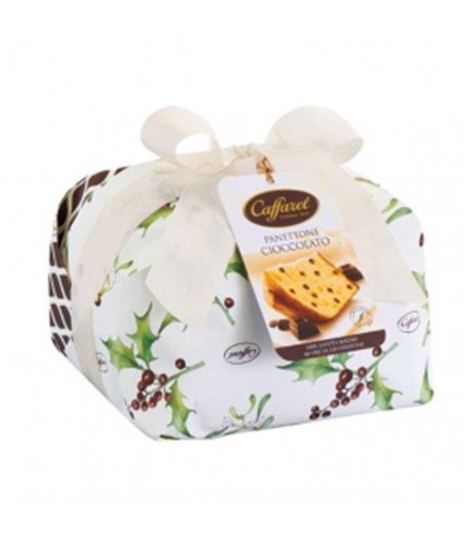 Panettone de Chocolate 1kg. Caffarel. 9un.