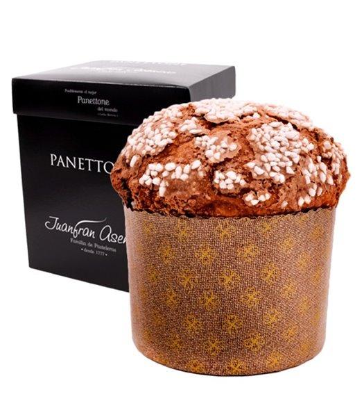 Panettone De Chocolate y Naranja Juanfran Asencio 900gr.
