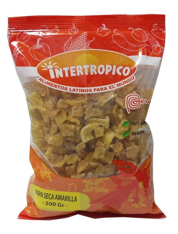 PAPA SECA AMARILLA INTERTROPICO X 500GR