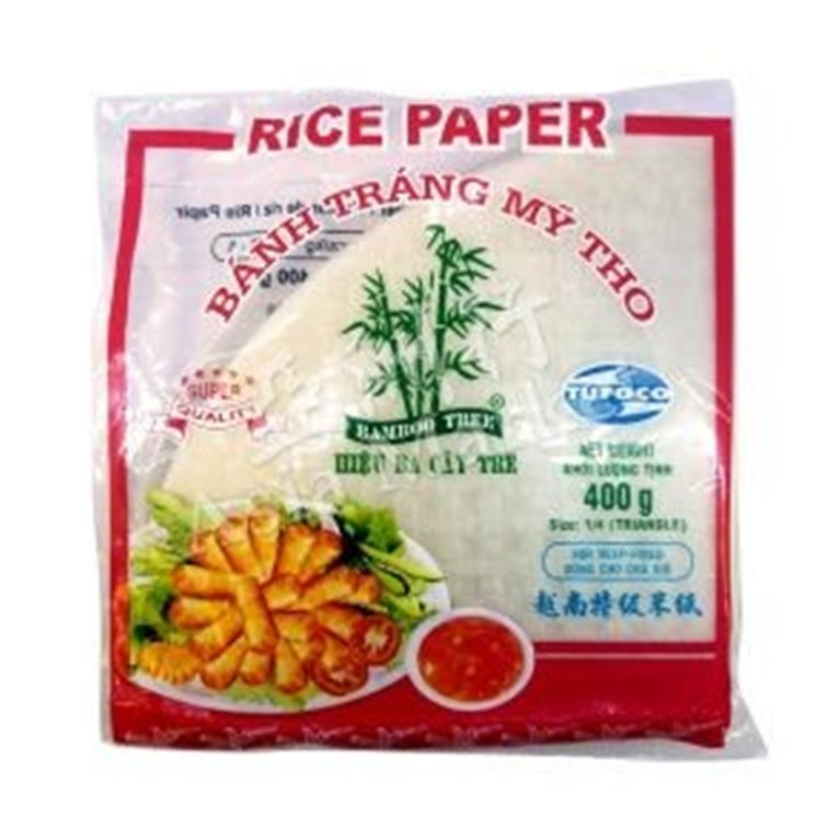Papel de Arroz Triangular Vietnamita 400g