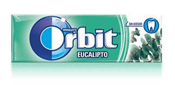 Paquete Orbit Eucalipto (sin azúcar, 14 gramos)