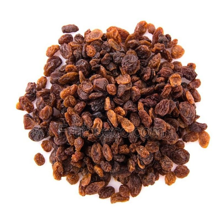 Pasas sultanas sin semilla, bolsa 200 gramos, 1 ud