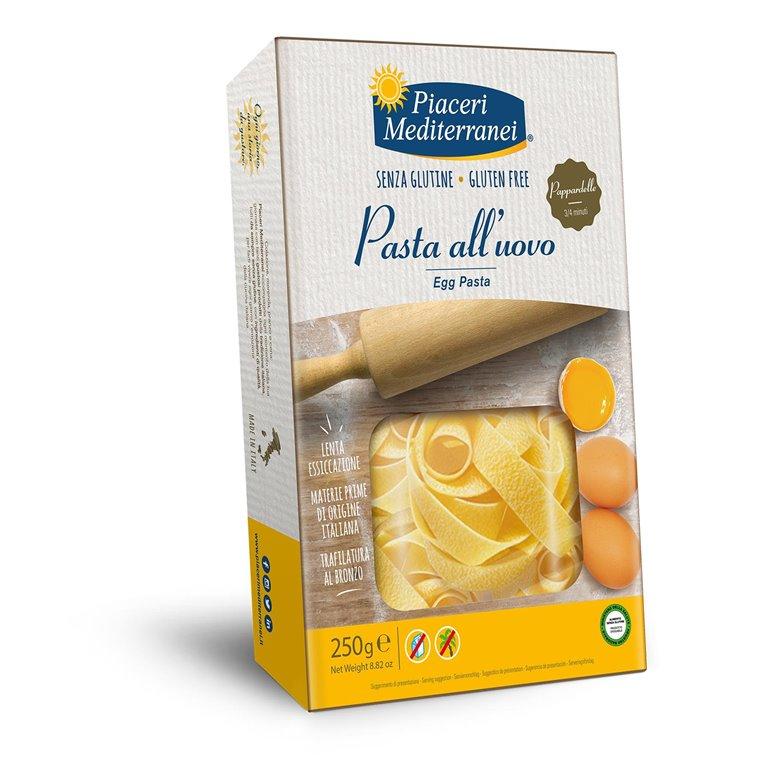Pasta al Huevo Pappardelle Sin Gluten 250g