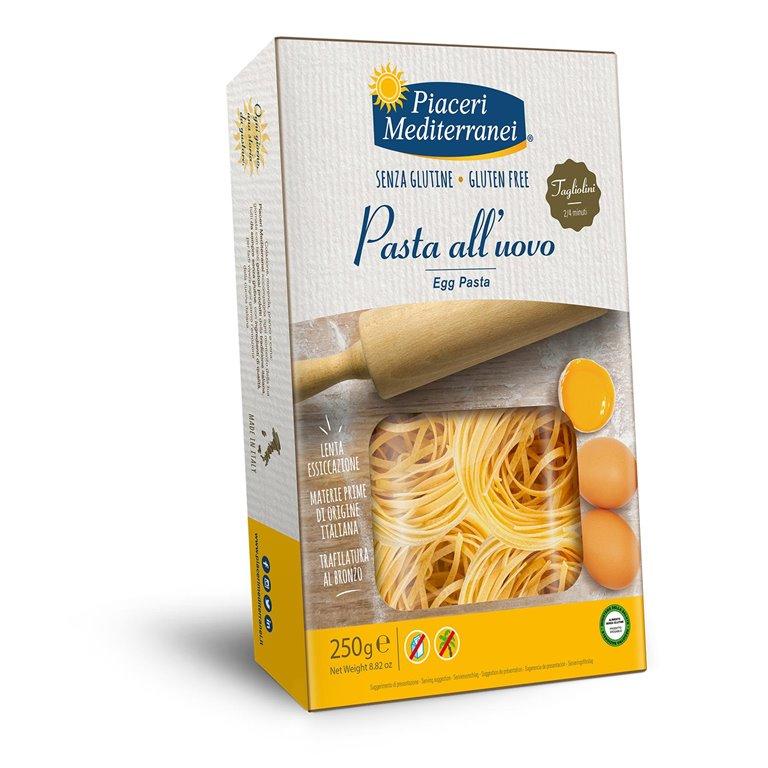 Pasta al Huevo Taglioni Sin Gluten 250g
