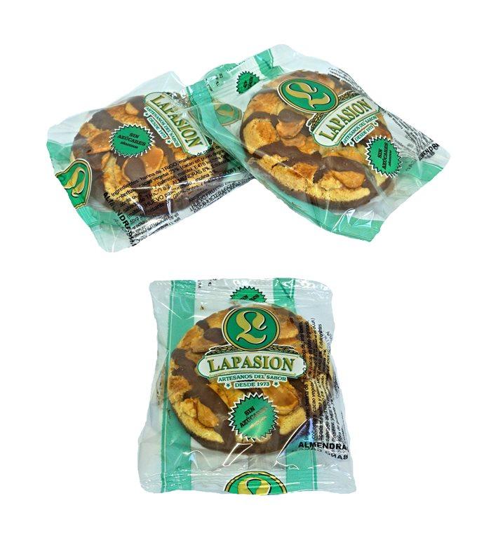 Pasta Almenda choco envuelto  | Sin azúcares | con edulcorante | 2,75 Kg