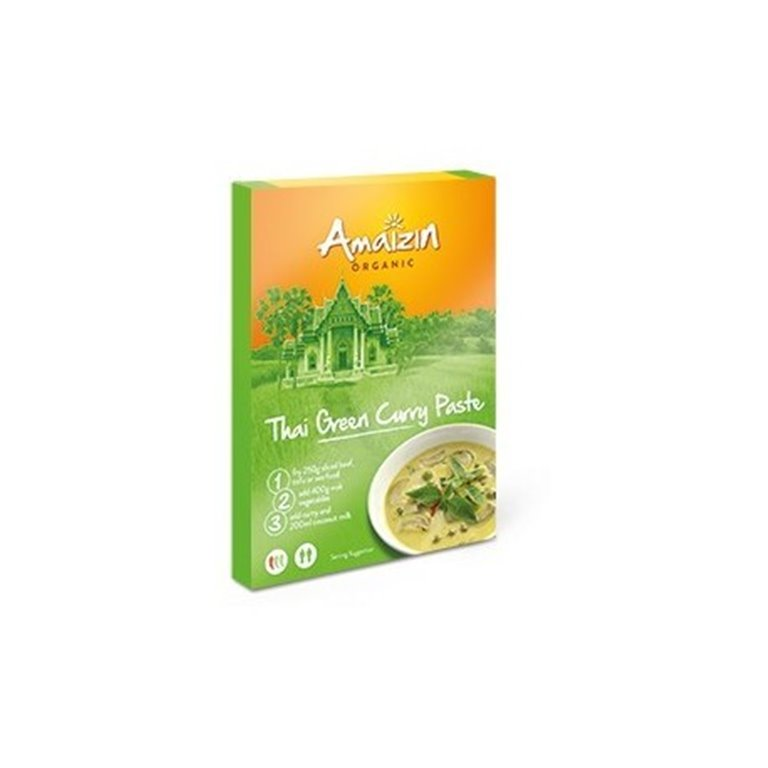 Pasta Curry Verde Tailandes, 1 ud