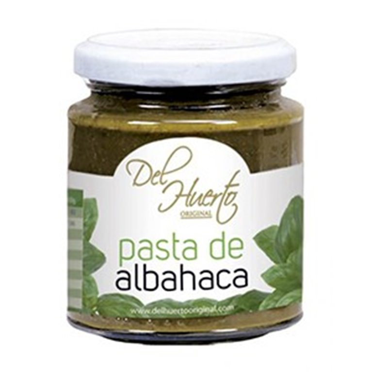 Pasta de Albahaca 212g