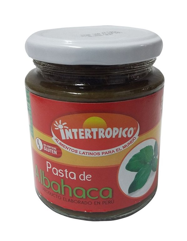 PASTA DE ALBAHACA INTERTROPICO X 215GRS