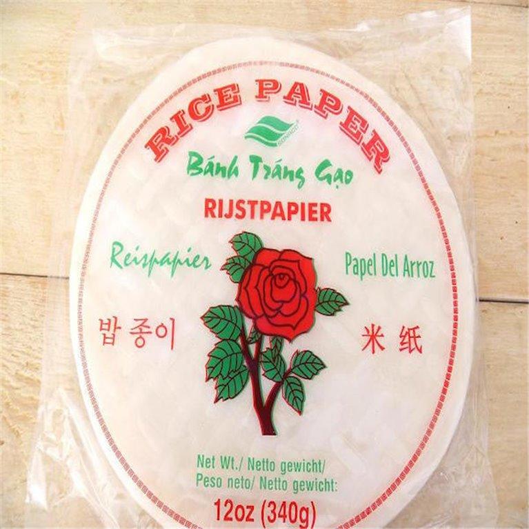 Pasta de arroz para rollito vietnamita, 1 ud