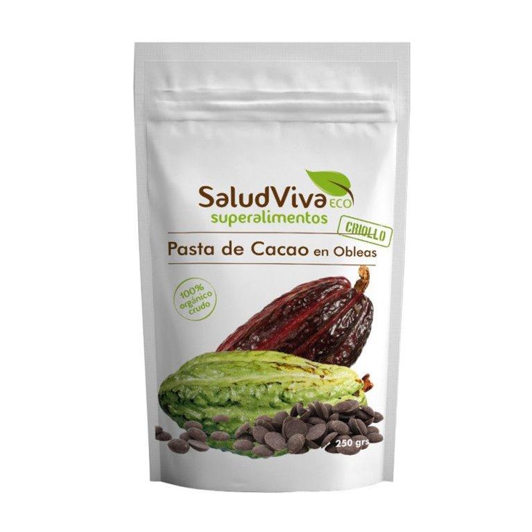 Cocoa Paste in Wafers Bio 250g