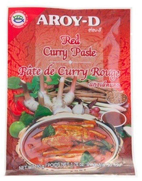 Pasta de Curry Rojo Thai 50g, 1 ud