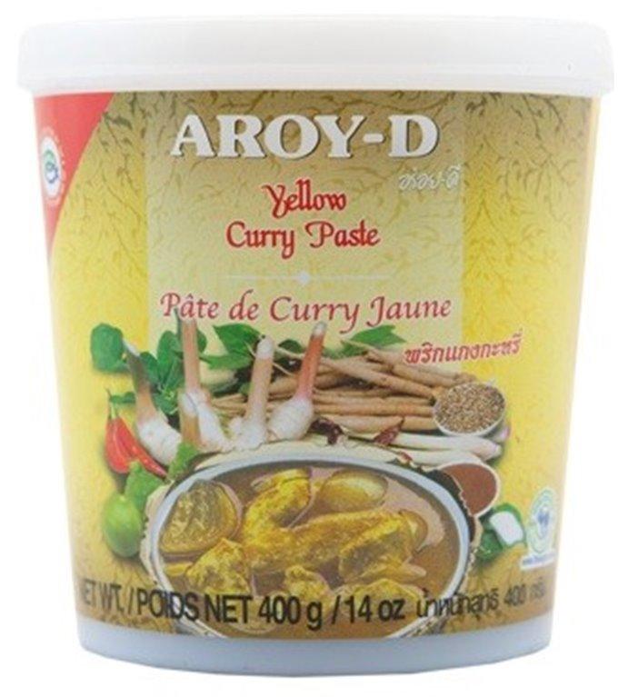 Pasta de Curry Amarillo Thai 400g, 1 ud