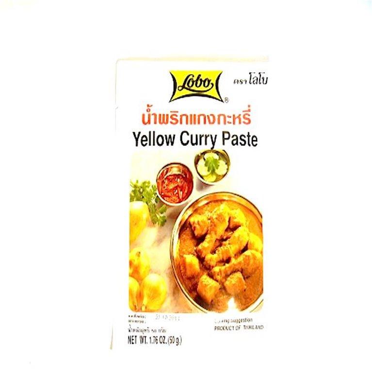 Pasta de curry amarillo 50g