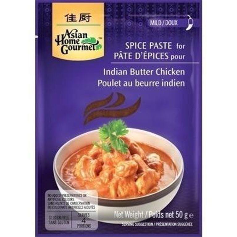 Pasta de Especias para Curry Indio de Pollo a la Mantequilla 50g