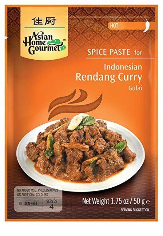 Pasta de Especias para Curry Indonés Rendang Gulai 50g, 1 ud