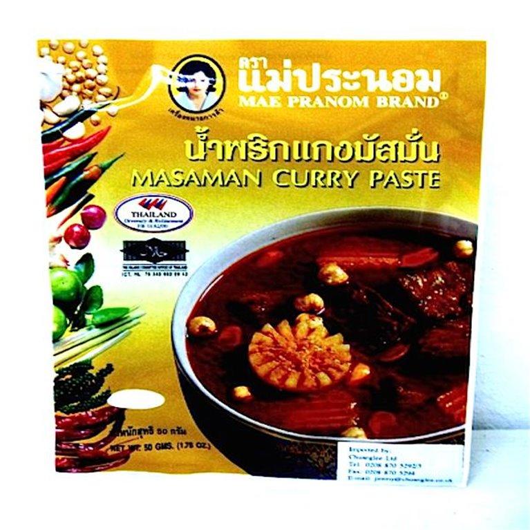 Pasta de curry Massaman 50g