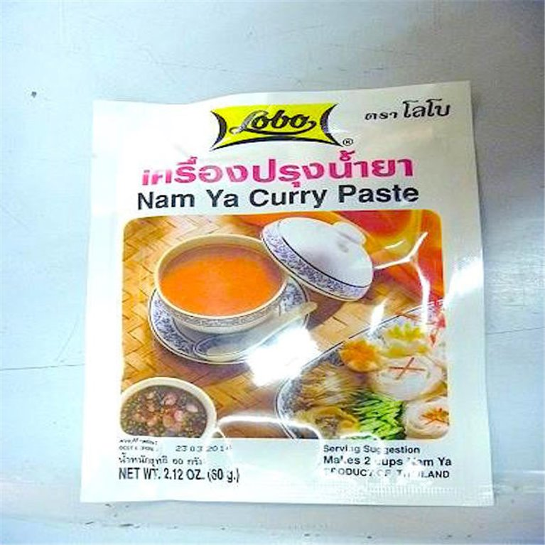 Pasta de curry Nam Ya 60g