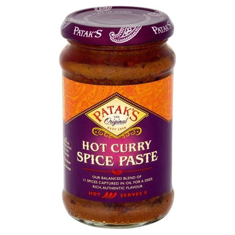 Pasta de Especias para Curry Picante 283g, 1 ud