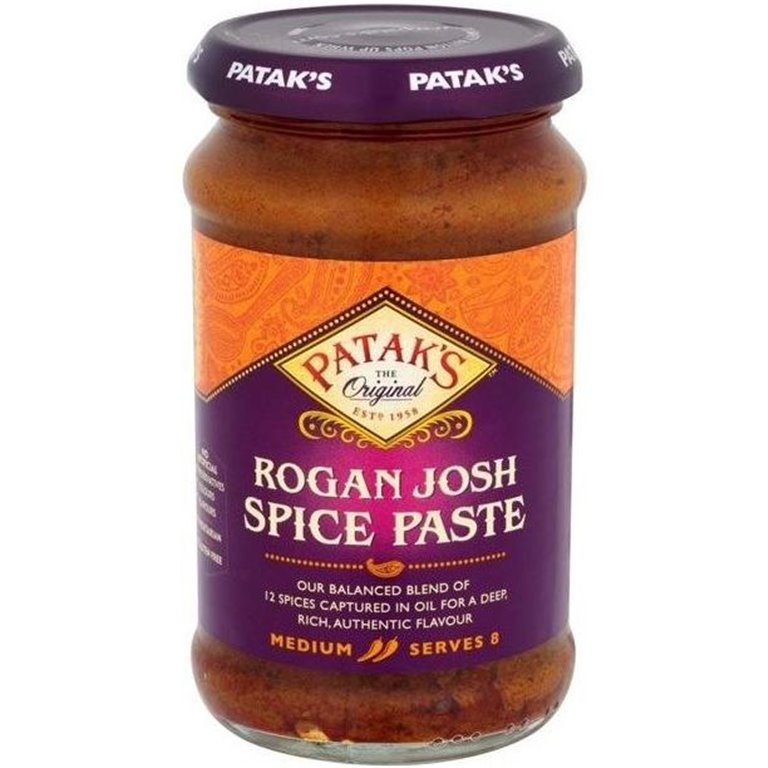 Pasta de Curry Rogan Josh 283g, 1 ud