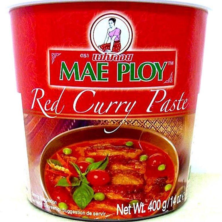 Pasta de curry rojo 400g