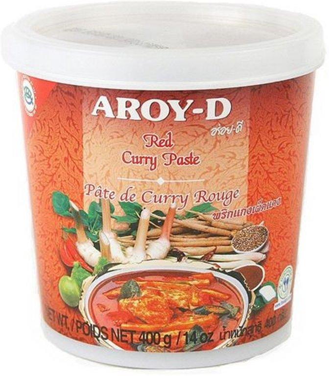 Pasta de Curry Rojo Thai 400g, 1 ud