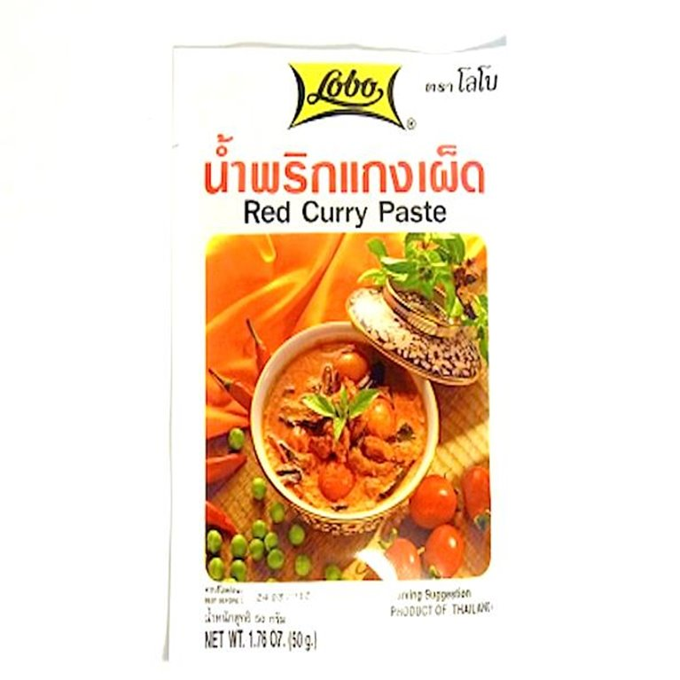 Pasta de curry rojo 50g