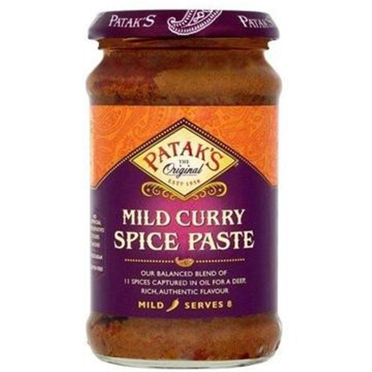 Pasta de Especias para Curry Suave 300g, 1 ud