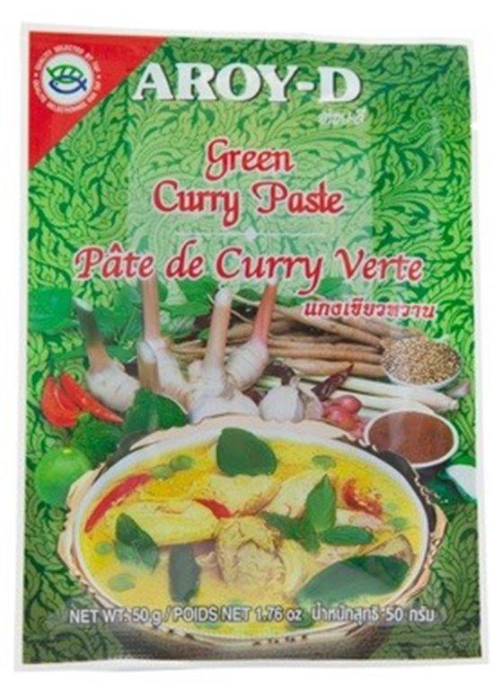 Pasta de Curry Verde Thai 50g, 1 ud