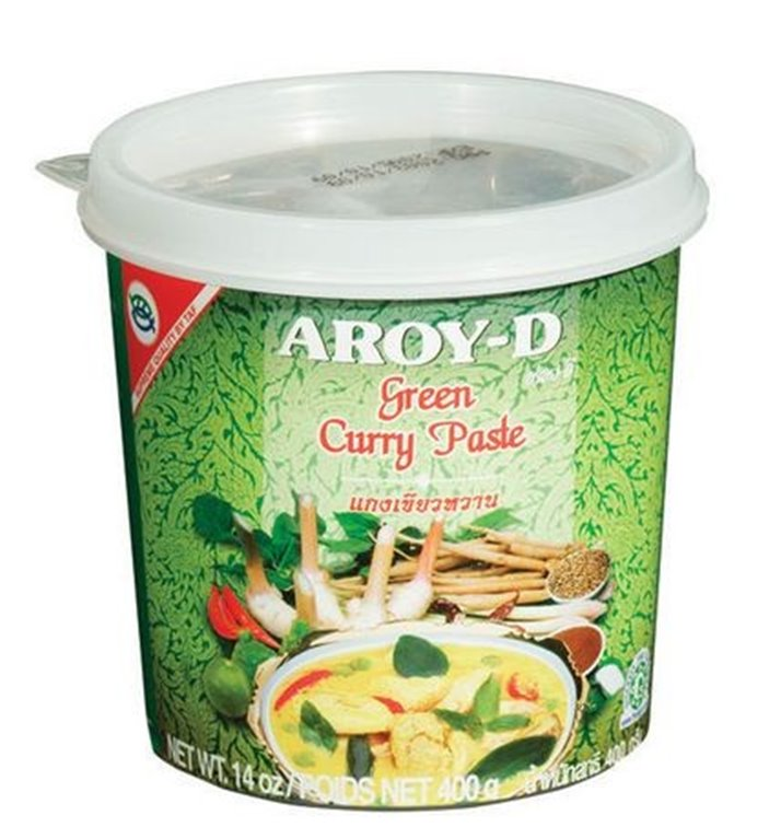 Pasta de Curry Verde Thai 400g