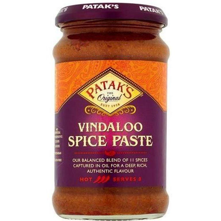 Pasta de Curry Vindaloo 283g, 1 ud