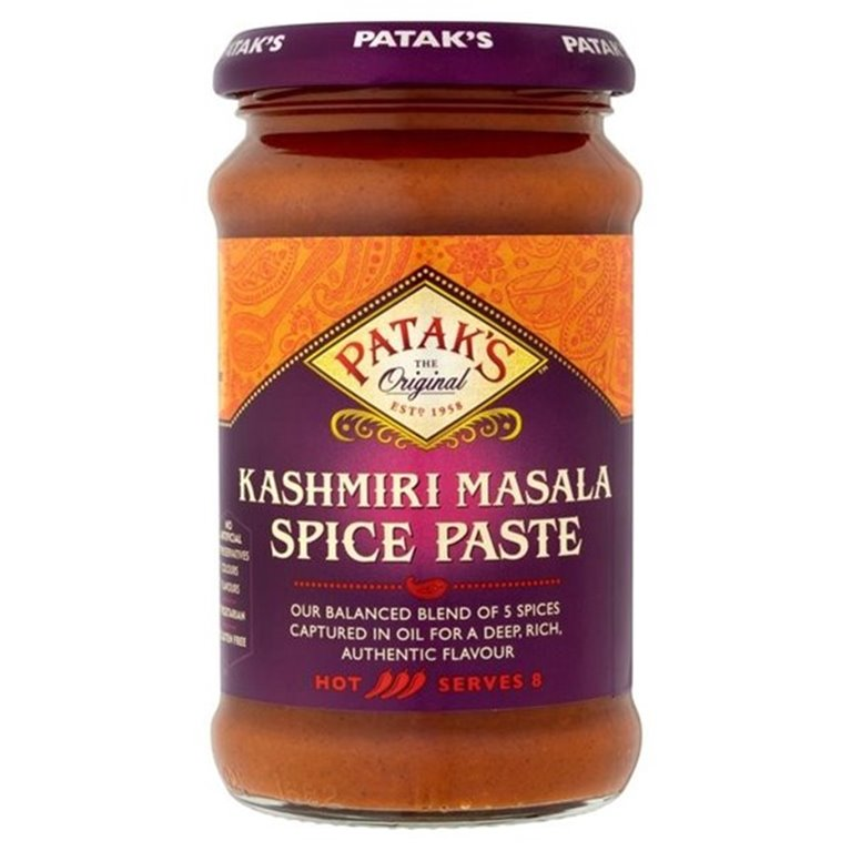 Pasta de Especias para Curry Kashmiri Masala 295g