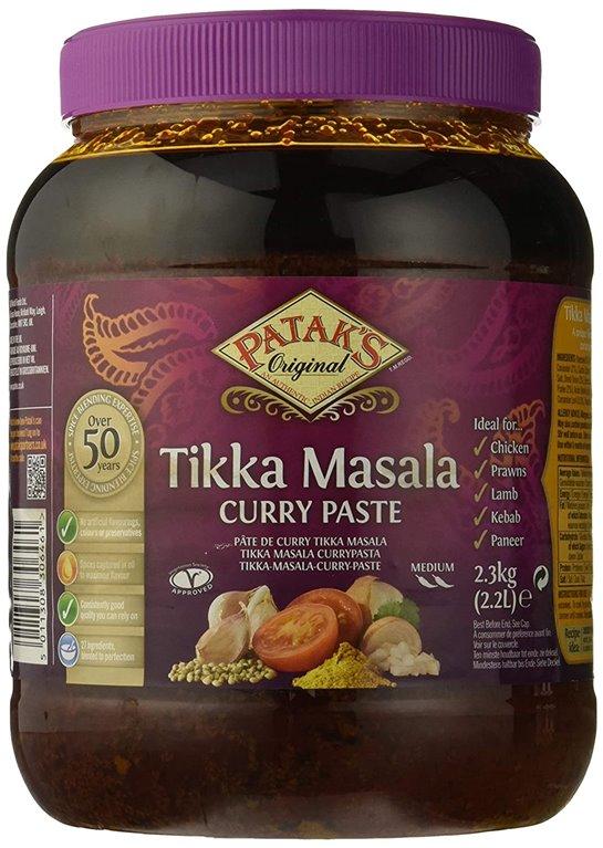 Pasta de Especias Tikka Masala 2,4kg